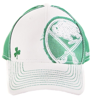Buffalo Sabres Reebok 2012 St. Patrick's Day Structured Flex Hat (Size L/XL)