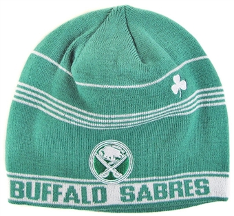 Buffalo Sabres 2012 St Patrick's Day Knit Skully Hat (One Size Fits All)