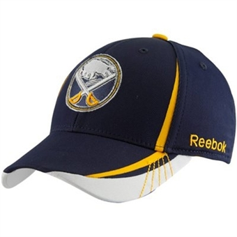 Buffalo Sabres Reebok Navy Sudden Death Flex Fit Hat (Adult L/XL)