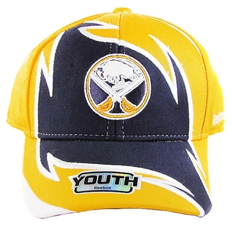 Buffalo Sabres Reebok Sharktooth Pro Shape Adjustable Hat (Youth 4-7)