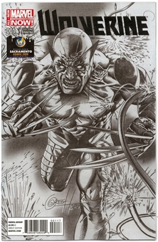 Wolverine #1 Wizard World Sacramento Exclusive Sketch Cover Variant