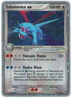 Pokemon Power Keepers Single Salamence ex 96/108