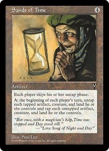 Magic the Gathering Visions Single Sands of Time - NEAR MINT (NM)