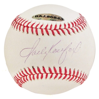 Sandy Koufax Autographed Baseball (Slightly Faded) (UDA COA)