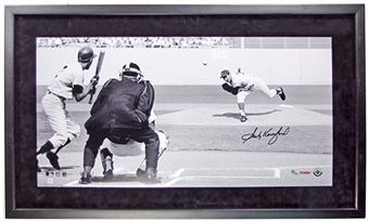 Sandy Koufax Autographed & Framed Panoramic Photo #/132 (UDA COA)
