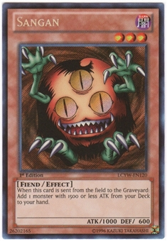 Yu-Gi-Oh Legendary Collection 3 Single Sangan Secret Rare