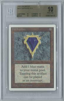 Magic the Gathering Unlimited Single Mox Sapphire BGS 10 PRISTINE (10,9.5,10,10)