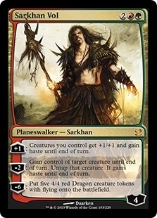 Magic the Gathering Modern Masters Single Sarkhan Vol UNPLAYED (NM/MT)