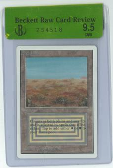 Magic the Gathering Unlimited Single Savannah - BGS RCR 9.5