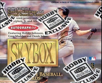 2000 Skybox Baseball Hobby Box