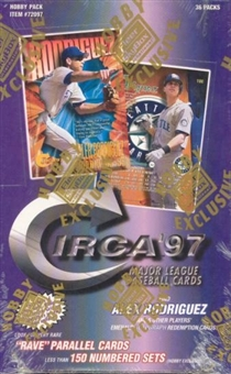 1997 Fleer Circa Baseball Hobby Box