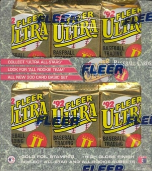 1992 Fleer Ultra Series 2 Baseball Jumbo Box