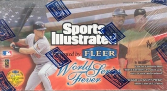 1998 Fleer Sports Illustrated World Series Fever Baseball Hobby Box