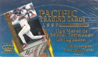 1997 Pacific Baseball Spanish Hobby Box