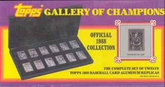 1988 Topps Gallery of Champions Baseball Set