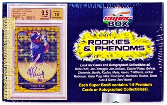 2013 Super Box Rookies and Phenoms Baseball Hobby Box