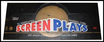 1997 Topps Screen Plays Baseball Hobby Box