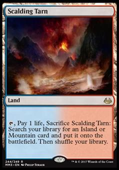 Magic the Gathering Modern Masters 2017 Single Scalding Tarn - NEAR MINT (NM)