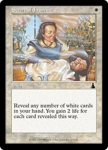 Magic the Gathering Urza's Destiny Single Scent of Jasmine FOIL