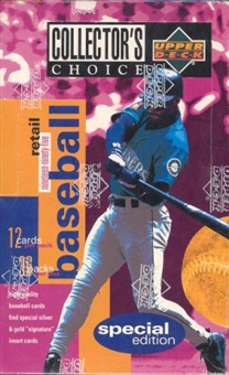 1995 Upper Deck Collector's Choice Special Edition Baseball 36 Pack Box