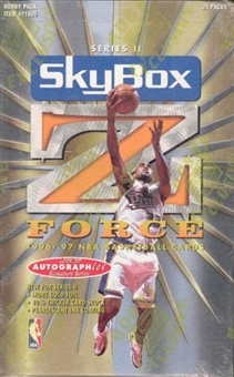 1996/97 Skybox Z-Force Series 2 Basketball Hobby Box