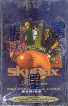 1995/96 Skybox Premium Series 1 Basketball Retail Box