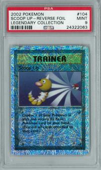Pokemon Legendary Collection Scoop Up 104/110 Reverse Foil Rare PSA 9