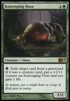 Magic the Gathering Magic 2014 Single Scavenging Ooze - NEAR MINT (NM)