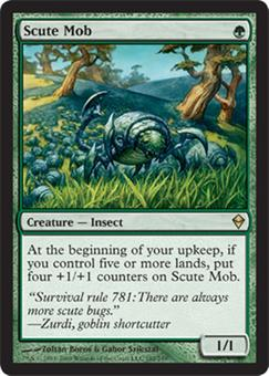 Magic the Gathering Zendikar Single Scute Mob - NEAR MINT (NM)