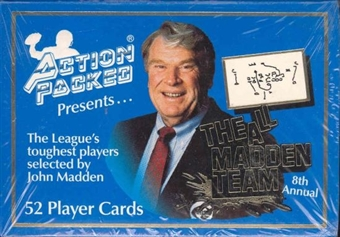 1992 Action Packed All Madden Football Team Factory Set