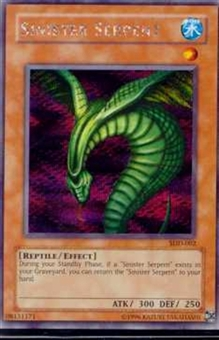 Yu-Gi-Oh Promo Single Sinister Serpent Rare Secret Rare (SDD-002)