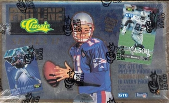 1995 Pro Line Series 2 Football Hobby Box