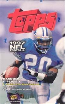 1997 Topps Football 36 Pack Box