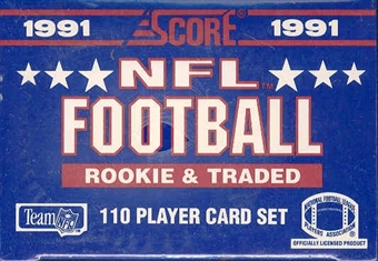 1991 Score Rookie & Traded Football Factory Set