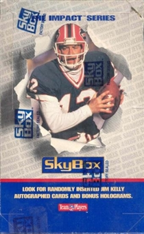 1992 Skybox Impact Football Wax Box