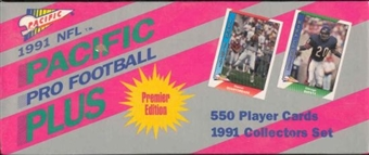 1991 Pacific Plus Football Factory Set