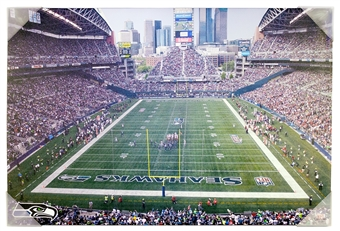 Seattle Seahawks Artissimo Century Link Field Stadium 22x28 Stadium Canvas