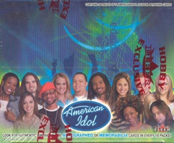 American Idol Season 4 Hobby Box (2005 Fleer)
