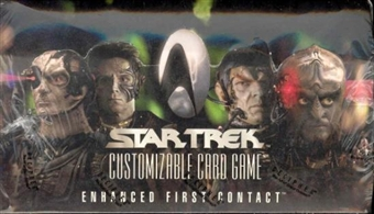 Decipher Star Trek Enhanced First Contact Booster Box