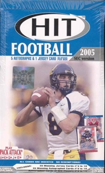 2005 Sage Hit SEC Edition Football Hobby Box