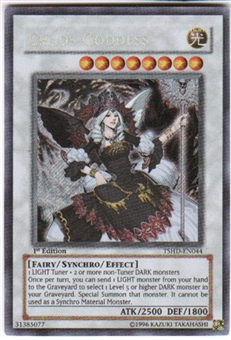 Yu-Gi-Oh Shining Darkness Single Chaos Goddess Secret Rare