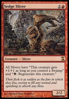 Magic the Gathering Time Spiral Single Sedge Sliver Foil