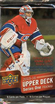 2015/16 Upper Deck Series 1 Hockey Pack