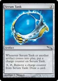 Magic the Gathering Mirrodin Single Serum Tank FOIL