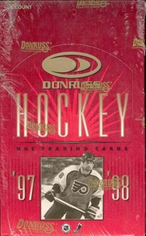 1997/98 Donruss Hockey 36 Pack Box