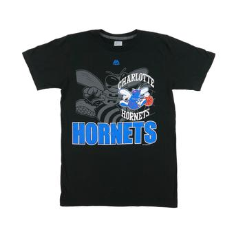 Charlotte Hornets Majestic Black Success Isn't Given Tee Shirt (Adult XL)