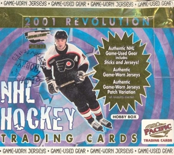 2000/01 Pacific Revolution Hockey Hobby Box