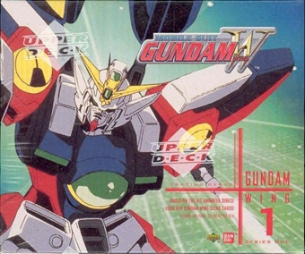 Gundam Wing Series 1 Hobby Box (2000 Upper Deck)