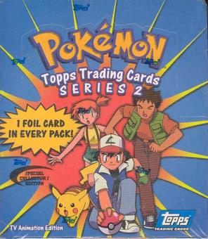 Pokemon Series 2 Hobby Box (2000 Topps)