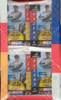 1997 Pinnacle Racer's Choice Racing Jumbo Box